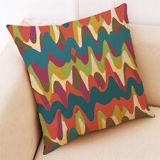 Fashion Print Pillow Cases Polyester Sofa Car Cushion Cover Home Room Decor #36 Black