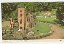 St. Ronan's Church, Skegness Model Village Postcard, B310