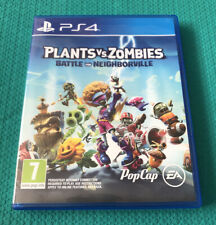 Plants Vs. Zombies: batalla por neighborville-PlayStation 4-PS4-en muy buena condición