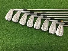 RARE Vintage 1959 MacGregor Golf TOMMY ARMOUR CF4000 SS2 Iron Set Right RH Steel