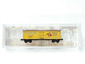 Z Scale Micro-Trains MTL 51800290 NADX Fox Brewing 40' Wood Beer Reefer #4751