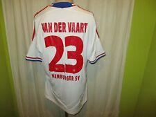 """Hamburger SV Adidas Trikot 2011/12 """"Fly Emirates"""" + Nr.23 Van der Vaart Gr.L TOP"""
