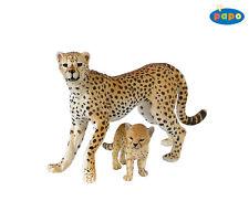 Guépard avec Jeune 10,0 cm animaux sauvages Papo 50044