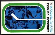 1972-73 Vancouver Canucks  Media Guide