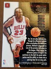 Michael Jordan 1996 Fleer Full Court Trap GOLD EMBOSSED