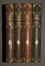 MARIUS AUDIN  HISTOIRE DE L'IMPRIMERIE PAR L'IMAGE 1929 4 reliures en maroquin