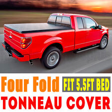 Soft Tonneau Tonno Cover Four fold Plus For 2004-2016 Ford F150 5.5FT Bed F3 Hot