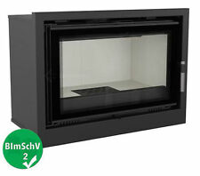 FAN ASSISTED FIREPLACE INSERT ARKE12 6-16kW WOOD BURNING CASSETTE INSET STOVE