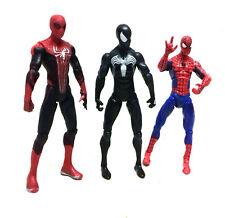 """Marvel Comics Universo Spiderman Negro, Classic & concepto 3.75"""" Figura Set Lote"""
