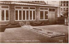 WEYMOUTH(Dorset): Floral Carpet,Alexandra Gardens RP-VALENTINE'S