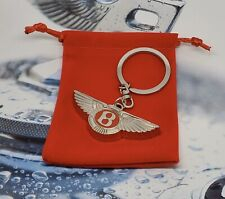 Bentley Key Chain Key Ring Steel Keychain Red Label item#KC02