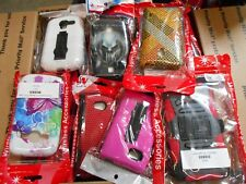 Wholesale Lot of 75 Cell Phone Cases Mixed Samsung LG ZTE IPhone Nokia Galaxy