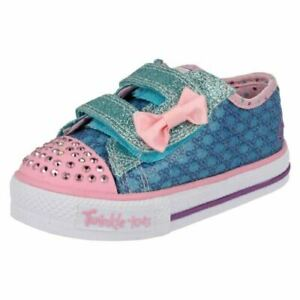 Twinkletoes by Skechers Girls Light Up Trainers - Sweet Steps