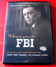 Cartha Deke DeLoach Hoover's FBI The Inside Story MP3-CD UNA.Audio J.Edgar/F.B.I
