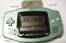 GameBoy Advance Handheld System POKEMON CENTER SUICINE GREEN with GLASS SCREEN