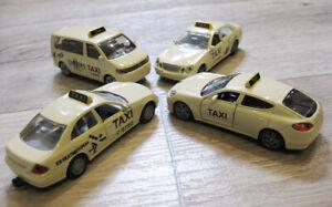 Siku Taxi Set Mercedes Benz E 500 1363 Grossraumtaxi 1360 1446 Porsche 1492