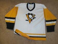 VTG Vintage Pittsburgh Penguins NHL Hockey Jersey-Adult L-CCM