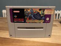 Snes Super Nintendo Ghouls N Ghosts Cart Cartridge Only Pal Game