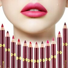 12 Colors Professional Makeup Matte Lipliner Waterproof Lip Liner Lip Pencil Pen