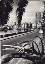 SAVONA CITTÀ 54 Cartolina FOTOGRAFICA viaggiata 1951