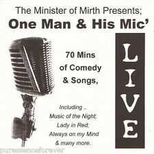 THE MINISTER OF MIRTH presents ONE MAN & HIS MIC (UK 11 Tk CD Album)