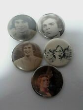 Vintage Pinback Photo FanButton Collection Russian Ballet Dancer Rudolph Nureyev