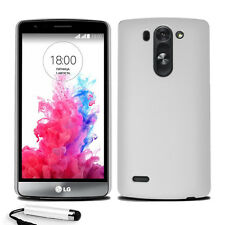 For LG G3S Mini D722 Armour Hard Shell Case Cover + Screen Protector + Stylus