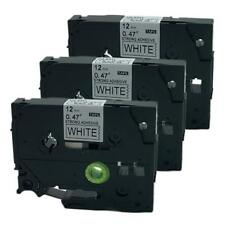 3PK Compatible for Brother P-Touch Laminated  TZ Label Tape Cartridge TZe-S231
