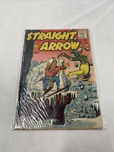 Straight Arrow Comic #47 Menace of Grey Wolves - Magazine Enterprises