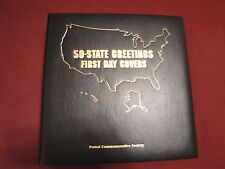 50 State Greetings First Day Covers