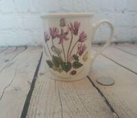 Portmeirion Botanic Garden Breakfast Mug Butterfly Back Cyclamen Coffee Cup