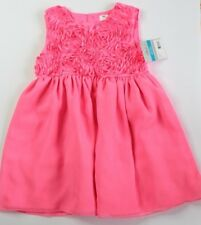 New Carter's Toddler Pink Flowered Top Sleeveless Party Dress size 24 months