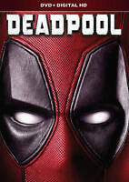 Deadpool (DVD, DIGITAL 2016) NEW, Free shipping
