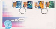 UNADDRESSED GB ROYAL MAIL FDC COVER 1994 MEDICAL DISCOVERIES STAMP SET TRURO PMK