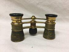 Vintage Brass Opera Glasses Binoculars Antique Steampunk Busch Multinett