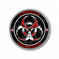 Biohazard Umbrella Corporation Sign Sticker