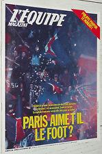 EQUIPE MAGAZINE 305 1986 FOOTBALL PSG RCP PARIS OM VELODROME KOP CYCLISME MOSER
