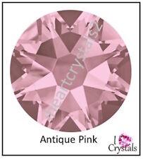 ANTIQUE PINK Swarovski 5mm 20ss Crystal 2058 Flatback Rhinestones 144 pieces