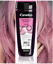 Delia Cameleo No Yellow Colour Hair Rinse Pink 0 Yellowing Effect 200ml