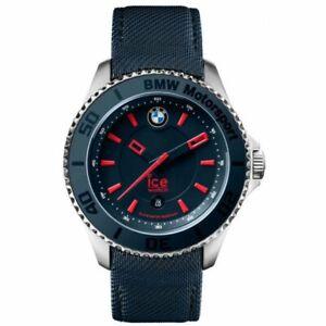 Ice BMW Motorsport Men's Blue Strap 40mm Case  Quartz Watch 001114 RRP £199.00