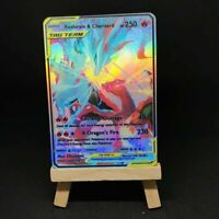 Reshiram & Charizard Tag Team - Custom Pokemon Card