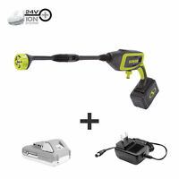 Sun Joe 24-Volt Power Cleaner Kit | 2.0-Ah | 350 PSI Max | 0.6 GPM Max
