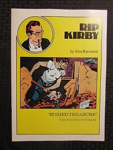 1980 RIP KIRBY Buried Treasure #15 VF/NM 9.0 Pacific Comics Club Alex Raymond