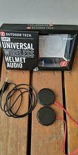 Outdoor Tech Chips Wireless Helmet Audio Bluetooth Headphones RRP $199