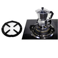1pc Iron Gas Stove Cooker Plate Coffee Moka Pot Stand Reducer Ring Holder MEJB