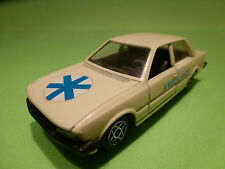 SOLIDO 1312 PEUGEOT 505 AMBULANCE - RARE SELTEN - GOOD CONDITION