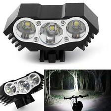 10000 Lumen 3X T6 LED Cycling Front Torch Bike Lamp Bicycle Light Head Lamp