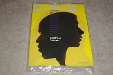 END PAIN FOREVER * GENETIC LINK May 2017 WIRED MAGAZINE NEW PARTIALLY SEALED