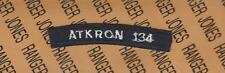 USN Navy ATKRON 134 Attack Squadron ship tab arc patch