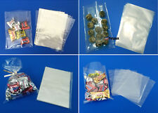 """100 4x6"""" Cello Bags with Gold Foil Twist Ties Polypropylene Candy Treats Cookies"""